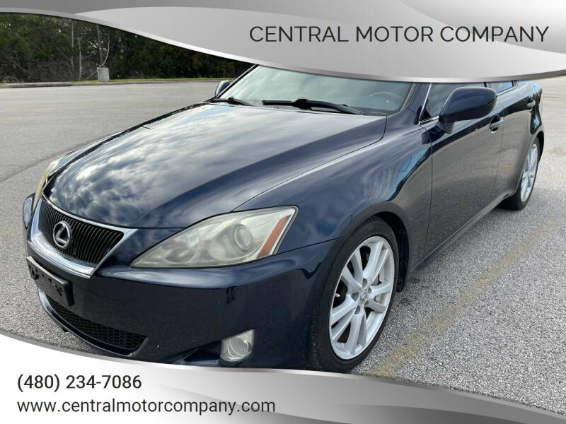 2006 Lexus IS 350 for sale at Central Motor Company in Austin TX