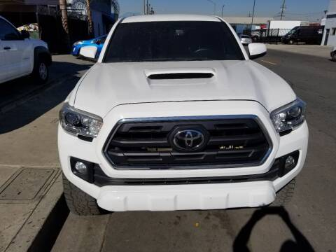 2018 Toyota Tacoma for sale at Ournextcar/Ramirez Auto Sales in Downey CA