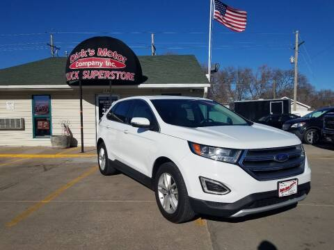 2017 Ford Edge for sale at DICK'S MOTOR CO INC in Grand Island NE
