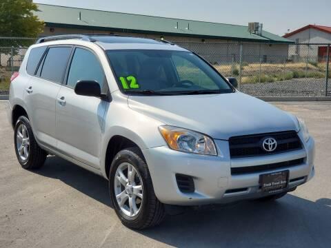 2012 Toyota RAV4 for sale at FRESH TREAD AUTO LLC in Springville UT
