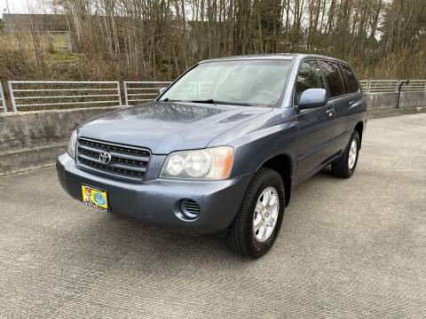 2003 Toyota Highlander for sale at Zipstar Auto Sales in Lynnwood WA