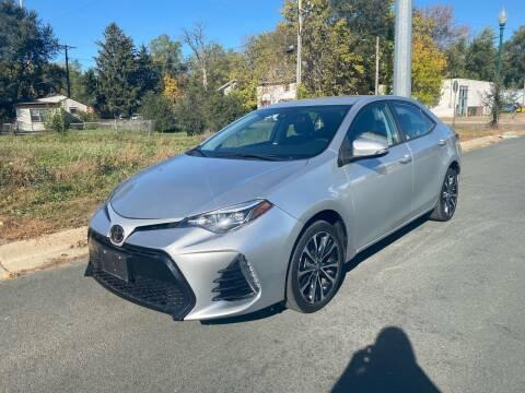 2017 Toyota Corolla for sale at ONG Auto in Farmington MN