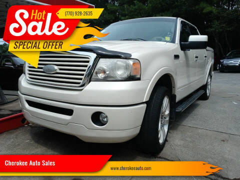 2008 Ford F-150 for sale at Cherokee Auto Sales in Acworth GA
