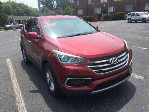 2017 Hyundai Santa Fe Sport for sale at DEALS ON WHEELS in Moulton AL