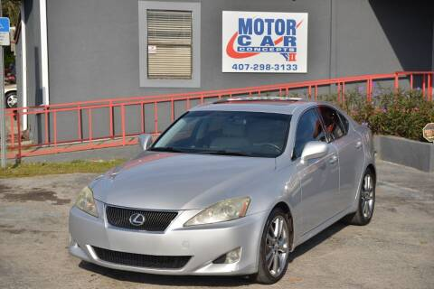 2008 Lexus IS 250 for sale at Motor Car Concepts II - Colonial Location in Orlando FL