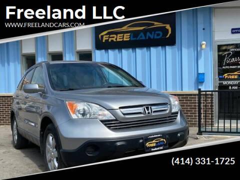 2007 Honda CR-V for sale at Freeland LLC in Waukesha WI
