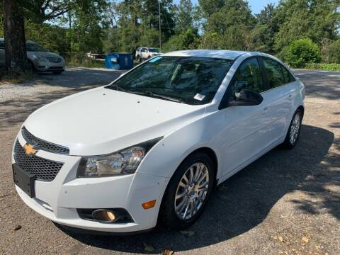 2013 Chevrolet Cruze for sale at Triple A Wholesale llc in Eight Mile AL