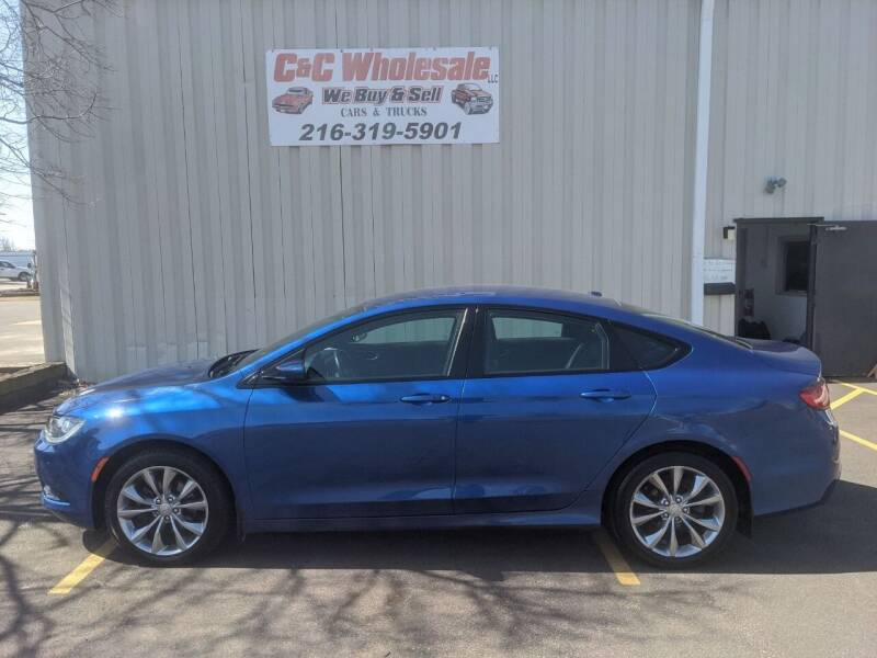 2015 Chrysler 200 for sale at C & C Wholesale in Cleveland OH