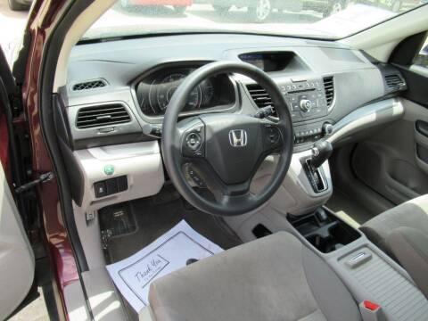 2012 Honda CR-V for sale at Aztec Motors in Des Moines IA