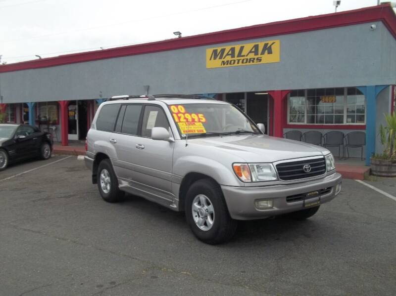 2000 Toyota Land Cruiser for sale at Atayas Motors INC #1 in Sacramento CA