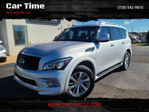 2017 Infiniti QX80 for sale at Car Time in Denver CO