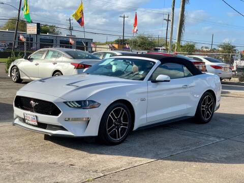 2020 Ford Mustang for sale at USA Car Sales in Houston TX