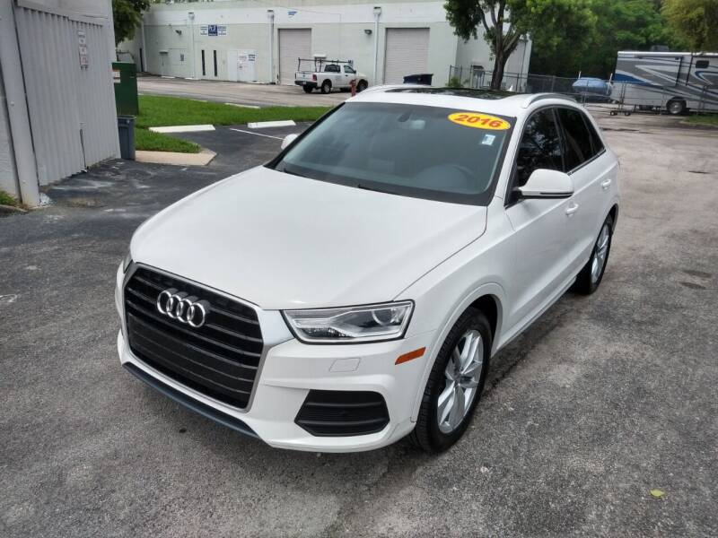 2016 Audi Q3 for sale at Best Price Car Dealer in Hallandale Beach FL