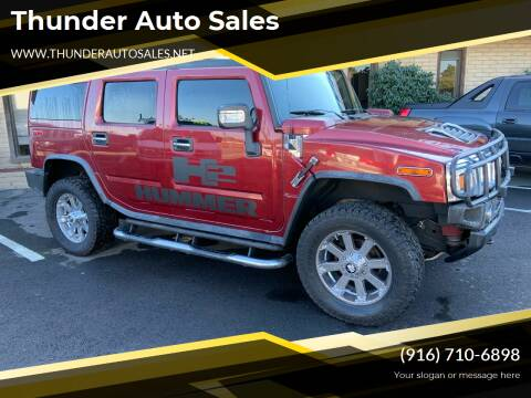 2005 HUMMER H2 for sale at Thunder Auto Sales in Sacramento CA