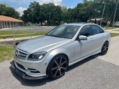 2010 Mercedes-Benz C-Class for sale at P J Auto Trading Inc in Orlando FL