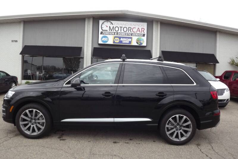 2018 Audi Q7 for sale at Grand Rapids Motorcar in Grand Rapids MI