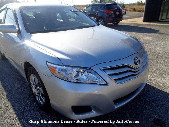 2010 Toyota Camry for sale at Gary Simmons Lease - Sales in Mckenzie TN