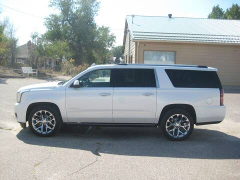 2017 GMC Yukon XL for sale at HOO MOTORS in Kiowa CO