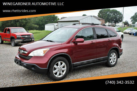 2008 Honda CR-V for sale at WINEGARDNER AUTOMOTIVE LLC in New Lexington OH