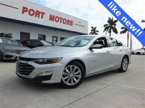 2020 Chevrolet Malibu for sale at Automotive Credit Union Services in West Palm Beach FL