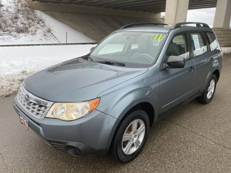 2011 Subaru Forester for sale at Apple Auto in La Crescent MN
