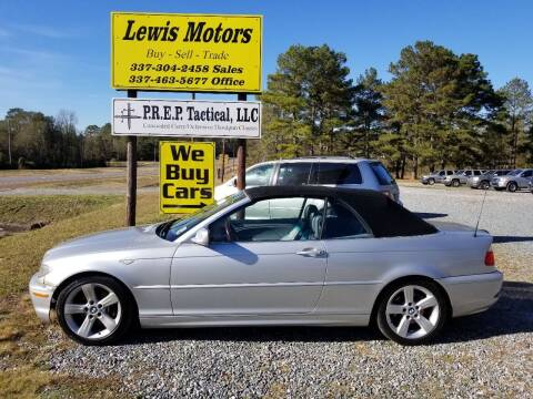 2004 BMW 3 Series for sale at Lewis Motors LLC in Deridder LA