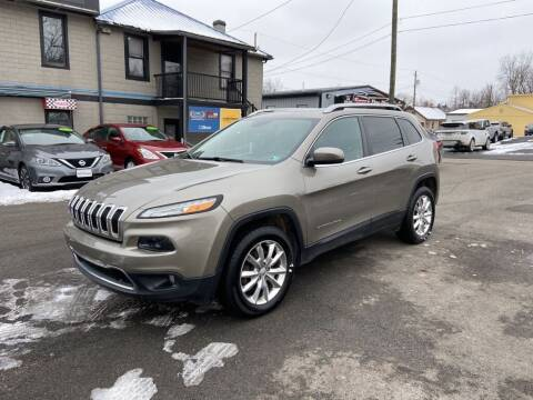 2017 Jeep Cherokee for sale at Sisson Pre-Owned in Uniontown PA