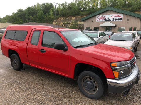2008 GMC Canyon for sale at Gilly's Auto Sales in Rochester MN