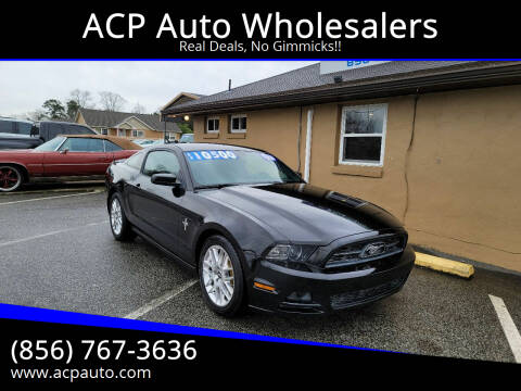 2013 Ford Mustang for sale at ACP Auto Wholesalers in Berlin NJ