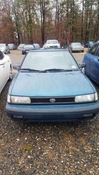 1992 Toyota Corolla for sale at MIKE B CARS LTD in Hammonton NJ