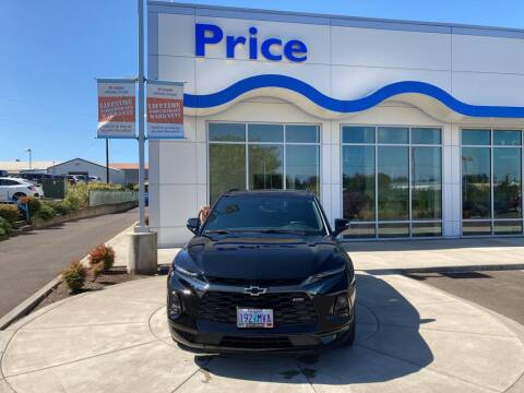 2021 Chevrolet Blazer for sale at Price Honda in McMinnville in Mcminnville OR