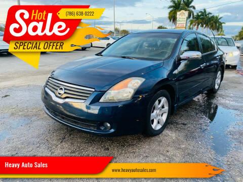 2008 Nissan Altima for sale at Heavy Auto Sales in Miami FL