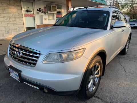 2007 Infiniti FX35 for sale at New Wheels in Glendale Heights IL