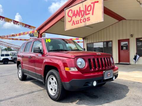 2014 Jeep Patriot for sale at Sandlot Autos in Tyler TX