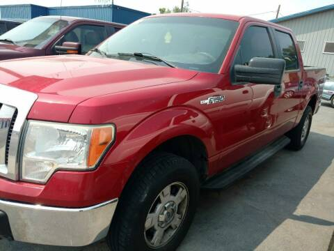 2010 Ford F-150 for sale at Gandiaga Motors in Jerome ID