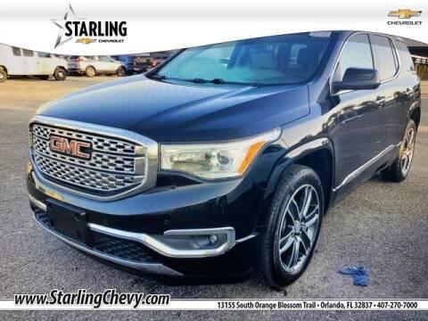 2018 GMC Acadia for sale at Pedro @ Starling Chevrolet in Orlando FL