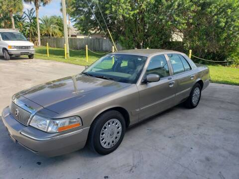 2003 Mercury Grand Marquis for sale at O & J Auto Sales in Royal Palm Beach FL
