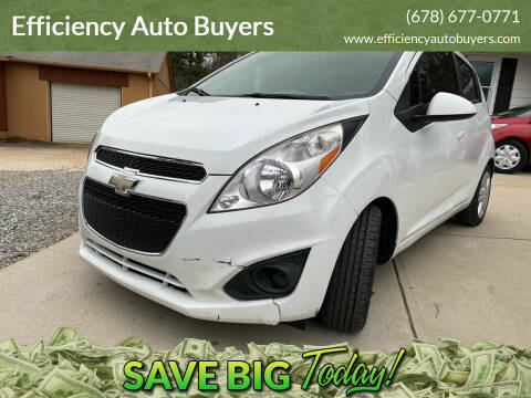 2015 Chevrolet Spark for sale at Efficiency Auto Buyers in Milton GA