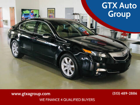 2012 Acura TL for sale at GTX Auto Group in West Chester OH