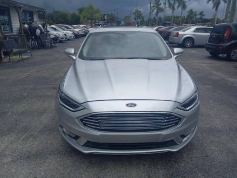 2018 Ford Fusion Hybrid for sale at Denny's Auto Sales in Fort Myers FL