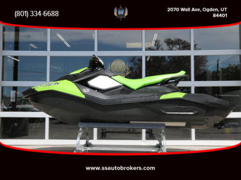2016 Sea-Doo SPARK 3UP for sale at S S Auto Brokers in Ogden UT