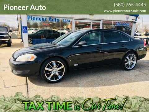2008 Chevrolet Impala for sale at Pioneer Auto in Ponca City OK