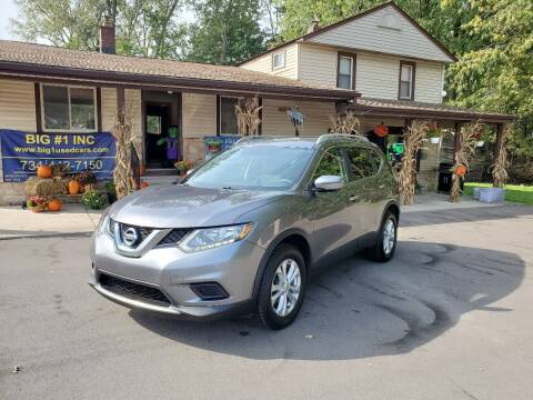 2016 Nissan Rogue for sale at BIG #1 INC in Brownstown MI