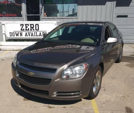 2010 Chevrolet Malibu for sale at Wicked Motorsports in Muskegon MI