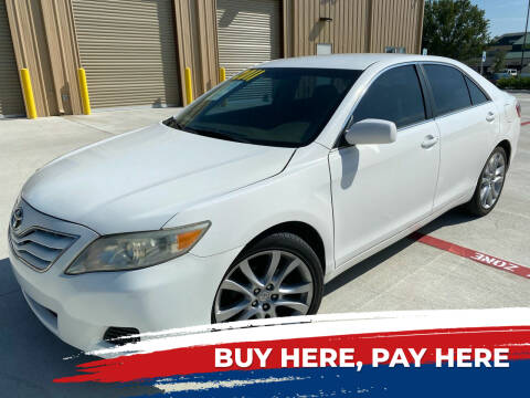 2011 Toyota Camry for sale at HI SOLUTIONS AUTO in Houston TX
