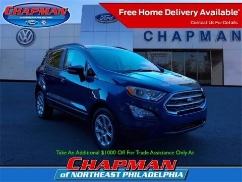 2019 Ford EcoSport for sale at CHAPMAN FORD NORTHEAST PHILADELPHIA in Philadelphia PA