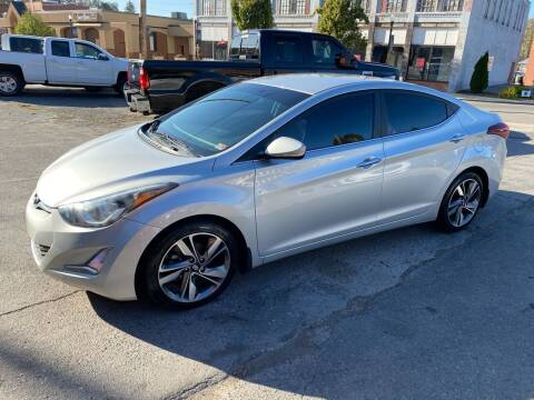 2014 Hyundai Elantra for sale at East Main Rides in Marion VA