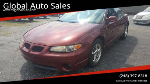 2003 Pontiac Grand Prix for sale at Global Auto Sales in Hazel Park MI