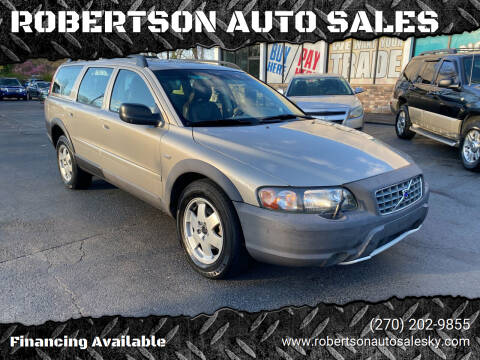2002 Volvo XC for sale at ROBERTSON AUTO SALES in Bowling Green KY