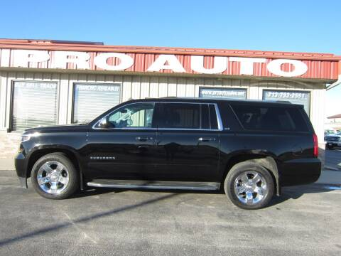 2015 Chevrolet Suburban for sale at Pro Auto Sales in Carroll IA
